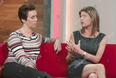 Georgie Bingham and Liz Fraser