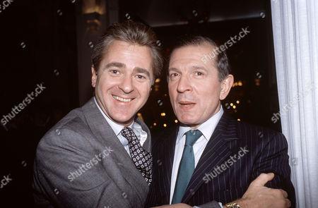 Ross Benson and Nigel Dempster