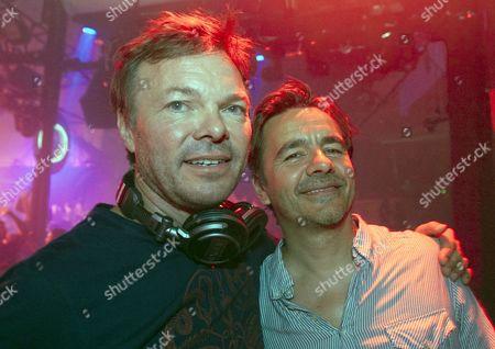 Pete Tong and Laurent Garnier