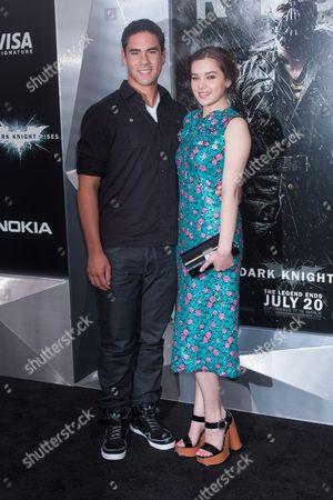 Editorial photo of 'The Dark Knight Rises' film premiere, New York, America - 16 Jul 2012