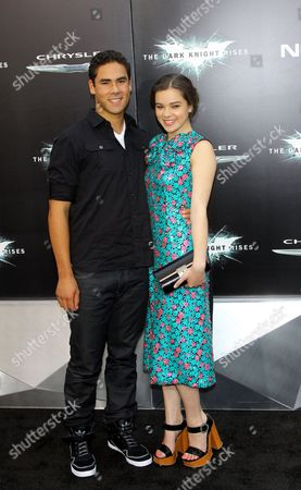 Griffin Steinfeld and Hailee Steinfeld