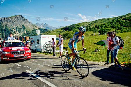 Editorial photo of Tour de France 2012, Stage 11, La Toussuire, France - 12 Jul 2012