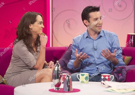 Editorial photo of 'Lorraine Live' TV Programme, London, Britain - 17 Jul 2012