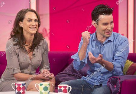 Editorial image of 'Lorraine Live' TV Programme, London, Britain - 17 Jul 2012