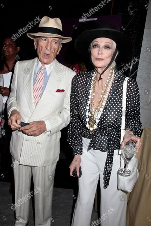 Stock Picture of Gay Talese and Carmen Dell' Orefice