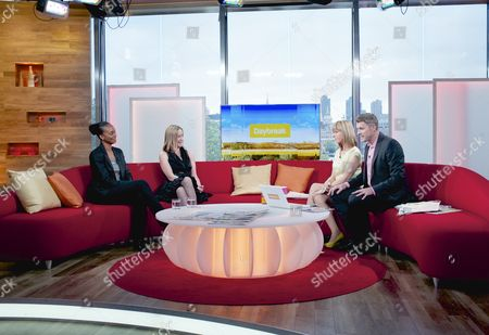 Laverne Antrobus and Kate Russell with Presenters Kate Garraway and Dan Lobb