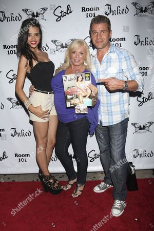 Editorial picture of Inked Magazine Party, New York, America  - 17 Jul 2012