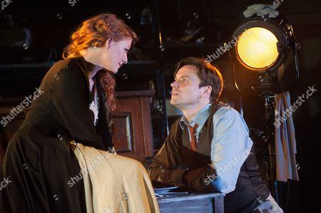 Laura Pitt-Pulford (as Mabel) and Norman Bowman (as Mack).