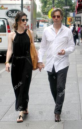 Alexandra Edenborough and Gary Oldman