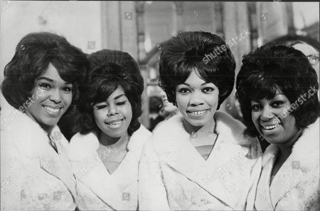 Editorial picture of Pop Group The Shirelles Not In Order : Beverly Lee Shirley Owens Doris Jackson Addie 'micki' Harris Mcpherson The Shirelles Were An African American Girl Group That Achieved Popularity In The Early 1960s. They Consisted Of Schoolmates Shirley Owens