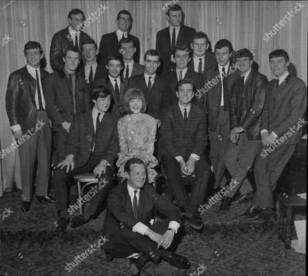 Record Producer And Manager Brian Epstein (front) With Singer Cilla Black Alongside Tommy Quickly (left) And Billy J Kramer (right) For Other Names See Versions Date Unknown
