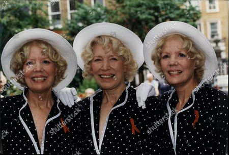 Pop Group The Beverley Sisters At Larry Grayson Memorial The Beverley Sisters Are A British Female Vocal Trio Popular During The 1950s And 1960s. The Trio Consists Of Eldest Sister Joy (born Joycelyn V. Chinery Bethnal Green London 1924) And The Twins Teddie (born Hazel P Chinery 1927 Bethnal Green London) And Babs (born Babette P Chinery 1927 Bethnal Green London).