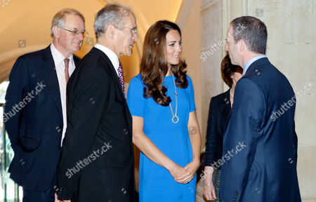 Sandy Nairne introduces Catherine Duchess of Cambridge and Ian Livingston, CEO of BT