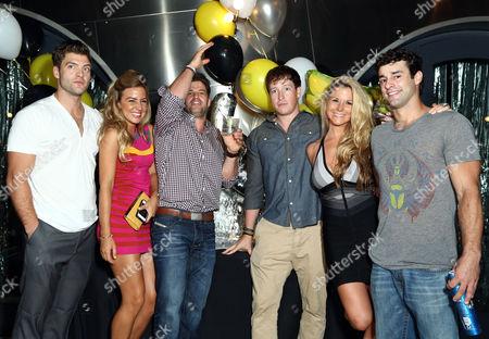 Johnny Bananas with Castmates