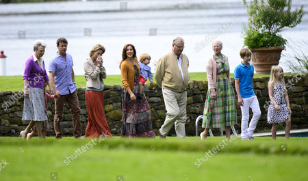 Editorial picture of Danish Royal Family Summer Photocall, Grasten Castle, Denmark - 20 Jul 2012