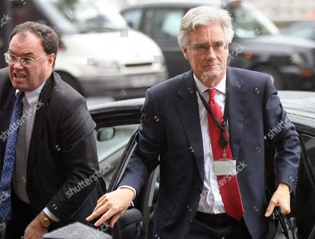 Andrew Bailey, Head of FSA Prudential Business Unit and FSA Chairman Lord Adair Turner