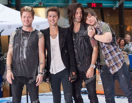 Editorial picture of NBC 'Today Show' Toyota Concert Series, New York, America - 20 Jul 2012