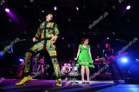 Scissor Sisters - Jake Shears, Ana Matronic and Del Marquis