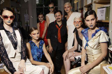 Editorial photo of Nico Didonna Fashion Show, Spring Summer 2013, Italian Cultural Institute, London, Britain  - 20 Jul 2012