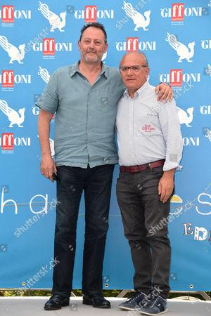 Jean Reno and Claudio Gubitosi