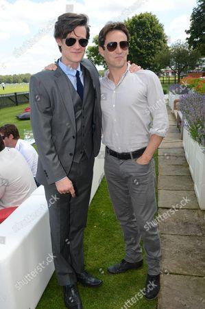Matt Smith and Stephen Moyer