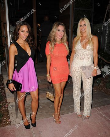 (L-R) Melissa Gorga, Marysol Patton and Alexia Echeverria