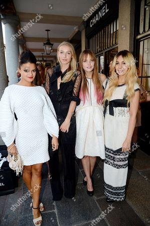 Bip Ling, Agathe Chapman, Lauren Heyden and Zara Martin