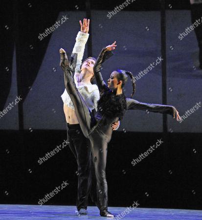 Stock Photo of Alban Lendorf and Megumi Oki