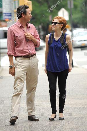 Will Beinbrink and Jessica Chastain