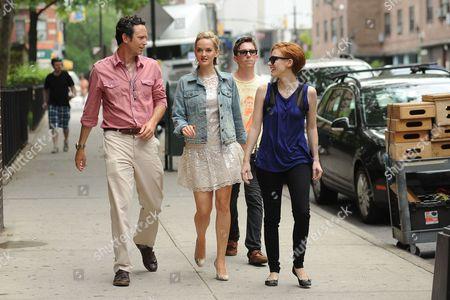 Will Beinbrink, Jess Weixler and Jessica Chastain