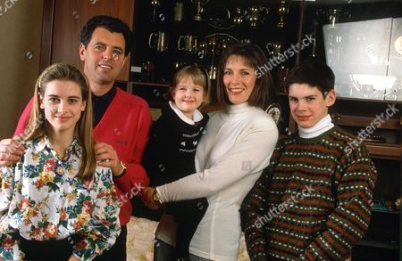 BERNARD GALLACHER AND FAMILY INCLUDING DAUGHTER Kirsty Gallacher (L)