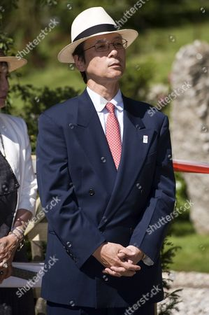Editorial picture of Fukushima Garden opening, Holland Park, London, Britain - 24 Jul 2012