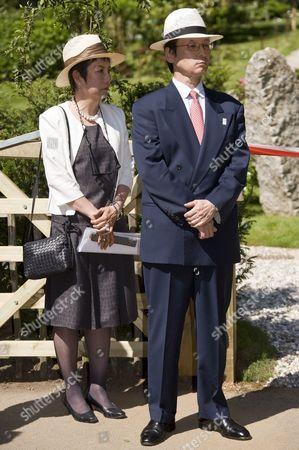 Hiroko Hayashi and Keiichi Hayashi, Japanese Ambassador