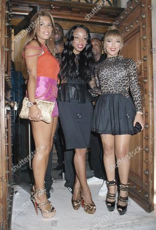 Chantelle Tagoe, Sabrina Washington and Shantel Jackson