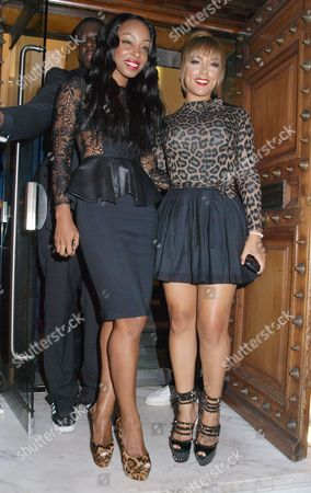 Stock Picture of Sabrina Washington and Chantel Jackson