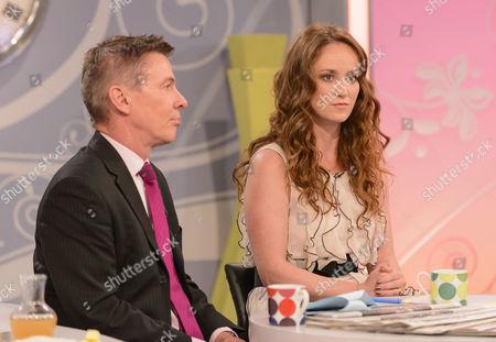 Editorial photo of 'Lorraine Live' TV Programme, London, Britain - 25 Jul 2012