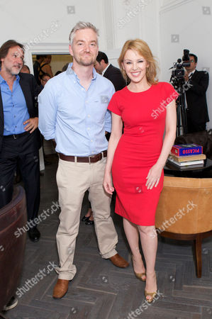 Stock Picture of Mitch Griffiths & Kylie Minogue