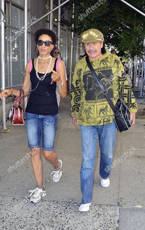 Cindy Blackman -Santana and Carlos Santana