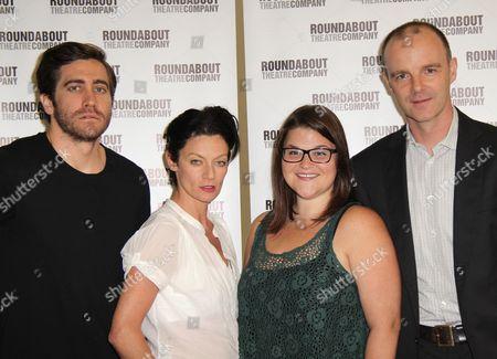 Jake Gyllenhaal, Michelle Gomez, Annie Funke and Brian F O'Byrne