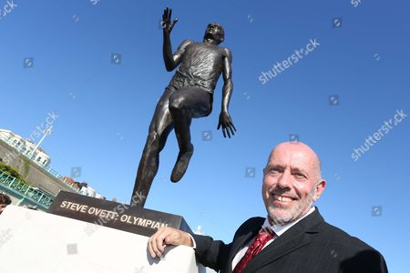 Editorial image of Steve Ovett unveils a new statue of himself on Brighton seafront, East Sussex, Britain - 24 Jul 2012
