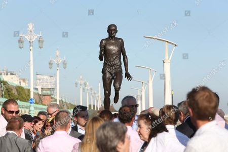 Sculpture of Steve Ovett