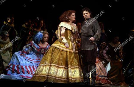 Editorial photo of The English National Opera presents a revival of Verdi's Ernani