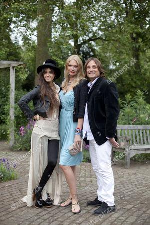 Jodie Kidd, Concepion Cochrane Blaquier and Andrea Vianini