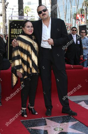 Pepe Aguilar and Mother Flor Silvestre