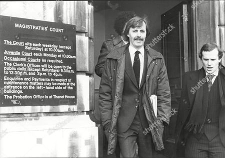 Dj Simon Dee (left) Leaves Brentford Magistrates Court