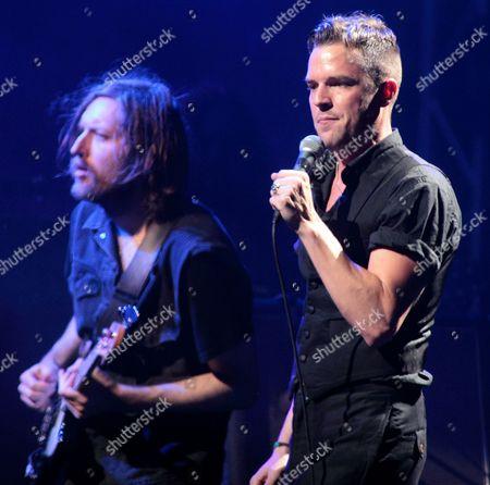 The Killers - Mark Stoermer and Brandon Flowers