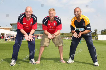 Editorial image of The Dean Headley Invitation XI Charity Cricket match, Stamford, Lincolnshire, Britain - 27 Jul 2012