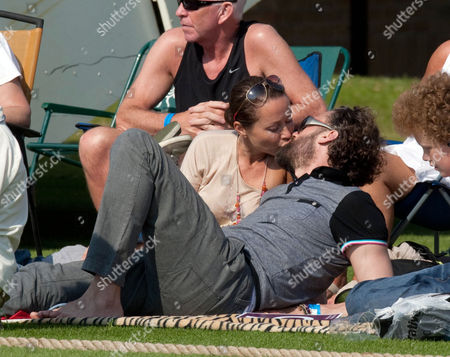 Amanda Mealing with husband Richard Sainsbury
