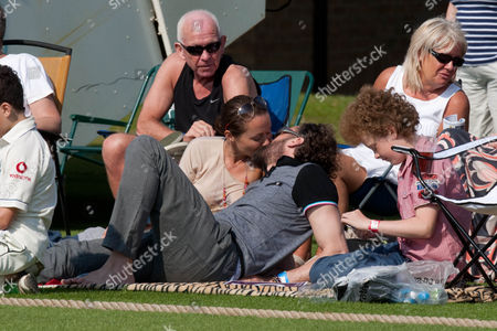 Editorial photo of The Dean Headley Invitation XI Charity Cricket match, Stamford, Lincolnshire, Britain - 27 Jul 2012