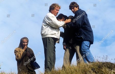 Stock Photo of Jean Anderson, Keith Barron, David Bamber and Nigel Havers